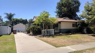 Fullerton Single Family Home Active Under Contract: 1236 E Union Avenue
