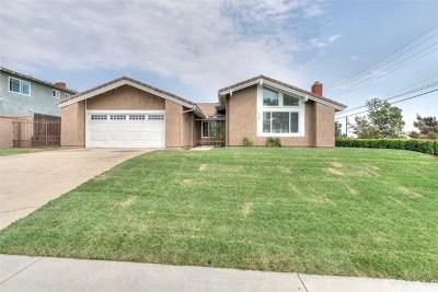Single Family Home For Sale: 6287 Opal Street