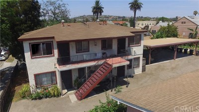 Long Beach Multi Family Home For Sale: 1344 Walnut Avenue