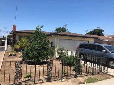 Lawndale Single Family Home For Sale: 4427 W 166th Street