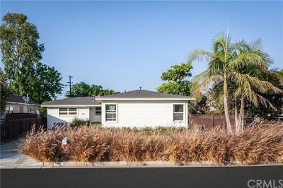 Costa Mesa Single Family Home For Sale: 244 Costa Mesa Street