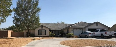 Apple Valley Single Family Home For Sale: 20419 Sundance Road