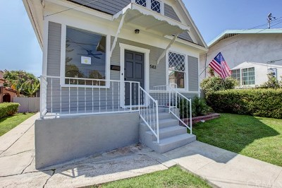 San Pedro Single Family Home For Sale: 583 W 1st Street