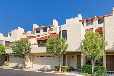 Mission Viejo Condo/Townhouse For Sale: 27882 Mazagon #169