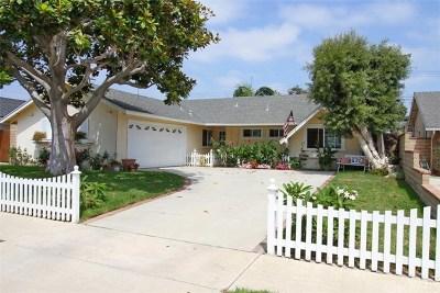 Huntington Beach Single Family Home For Sale: 9041 Gettysburg Drive