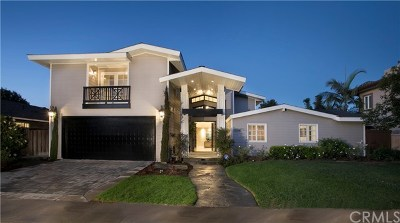 Newport Beach Single Family Home For Sale: 1106 Nottingham Road