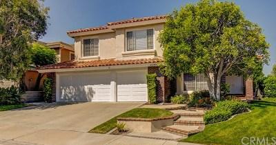 Mission Viejo Single Family Home For Sale: 22201 Hazel Crest