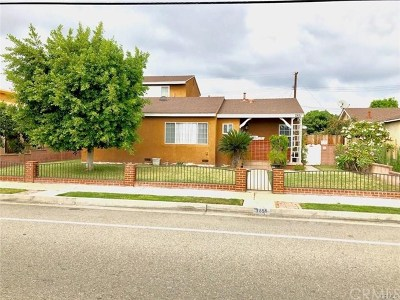 Midway City Single Family Home For Sale: 7851 McFadden Avenue