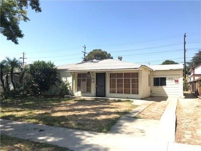Burbank Single Family Home For Sale: 1319 N Lincoln Street