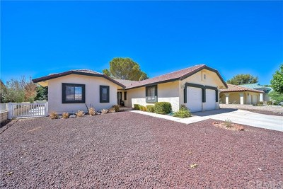 Helendale Single Family Home For Sale: 15113 Wildflower Lane