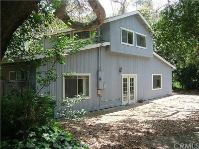 Modjeska Canyon, Silverado Canyon Single Family Home For Sale: 17402 Wilkinson Road