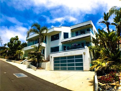 Laguna Beach Single Family Home For Sale: 2712 Highland Way