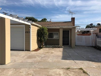 Long Beach Single Family Home For Sale: 460 E 56th Street