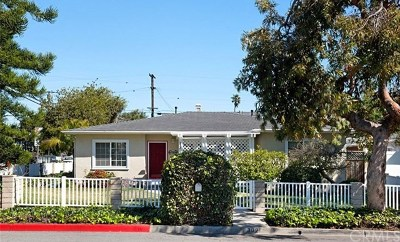 Costa Mesa Single Family Home For Sale: 302 Cabrillo Street