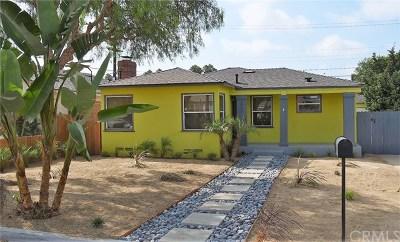 Costa Mesa Single Family Home For Sale: 1933 Church Street