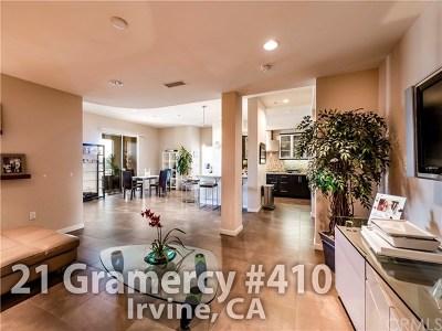 Irvine Condo/Townhouse For Sale: 21 Gramercy #410