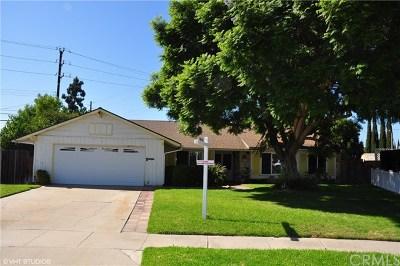 Fountain Valley Single Family Home For Sale: 18527 San Felipe Street
