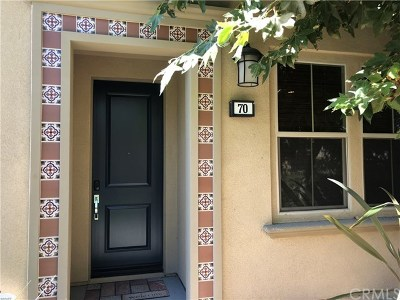 Lake Forest Condo/Townhouse For Sale: 70 Wild Rose