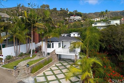 Laguna Beach Single Family Home For Sale: 31722 Scenic Drive