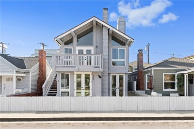 Newport Beach Multi Family Home For Sale: 505 35th Street
