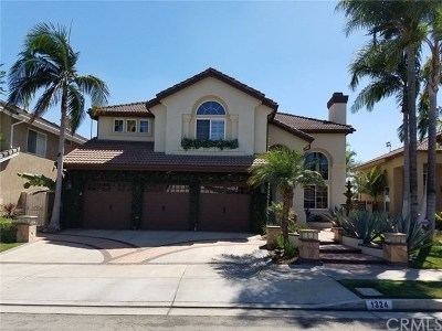 Placentia Single Family Home For Sale: 1324 Garten Drive