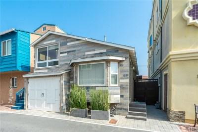 Surfside Single Family Home For Sale: 35 B Surfside Avenue