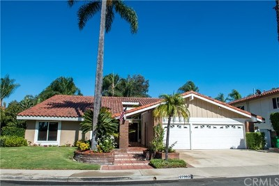 Mission Viejo Single Family Home For Sale: 27062 La Paja Lane