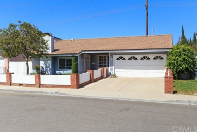 Fountain Valley Single Family Home For Sale: 9343 Siskin Avenue
