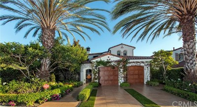 Newport Coast Single Family Home For Sale: 2 Sandy Cove