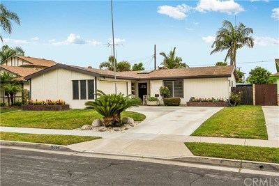 Fountain Valley Single Family Home For Sale: 16304 Hemlock Street