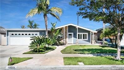 Huntington Beach Single Family Home For Sale: 19381 Waterbury Lane