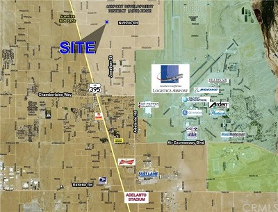 Adelanto Residential Lots & Land For Sale: Nichols Road
