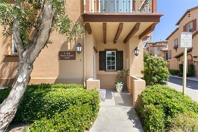 Ladera Ranch Condo/Townhouse For Sale: 3 Vinca Court