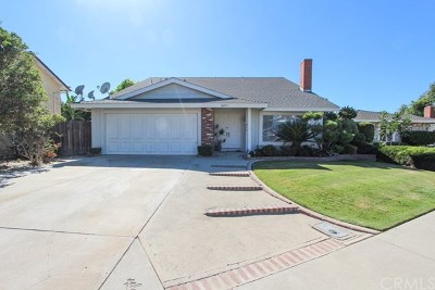 Fountain Valley Single Family Home For Sale: 16073 Redwood Street