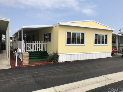 Orange County Mobile Home For Sale: 21851 Newland Street