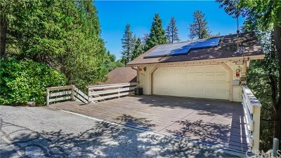 Crestline Single Family Home Active Under Contract: 24560 Horst Drive