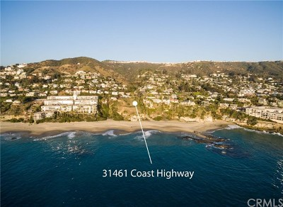 Laguna Beach Residential Lots & Land For Sale: 31461 Coast Hwy