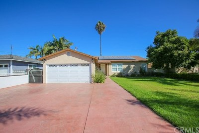 Santa Ana Single Family Home For Sale: 1227 Raymar Street