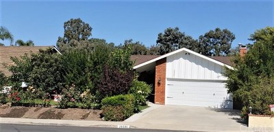 Mission Viejo Single Family Home For Sale: 26501 Naccome Drive