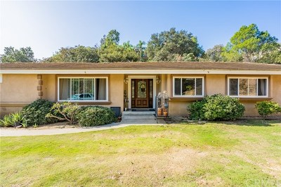 La Habra Heights Single Family Home For Sale: 2347 Valle Drive
