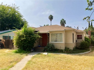 Fullerton Single Family Home For Sale: 215 N Princeton Avenue