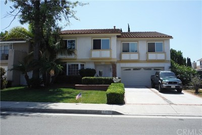 Irvine Single Family Home For Sale: 14742 Bel Aire Street