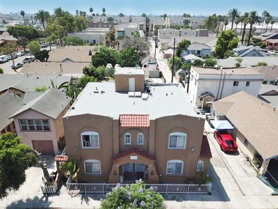 Long Beach Multi Family Home For Sale: 1867 Pasadena Avenue