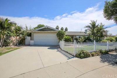 Fountain Valley Single Family Home For Sale: 16214 San Jacinto Circle