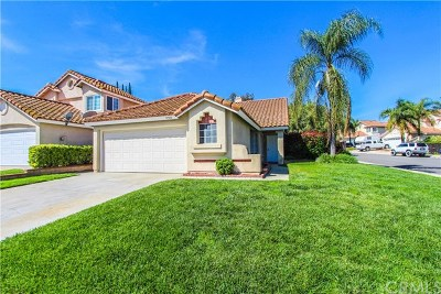 Chino Hills Single Family Home For Sale: 15506 Oak Springs Road