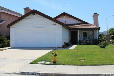Temecula Single Family Home For Sale: 31479 Calle Los Padres