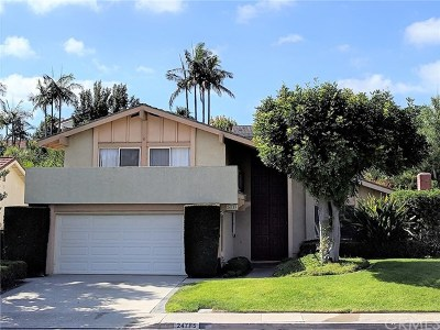 Mission Viejo Single Family Home For Sale: 24785 Embajadores Lane