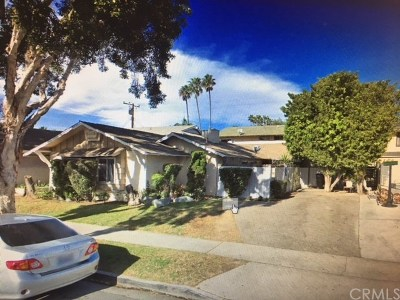 Costa Mesa Multi Family Home For Sale: 730 James Street