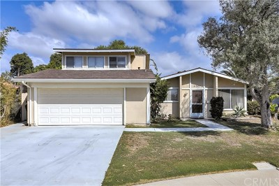 Huntington Beach Single Family Home Active Under Contract: 9201 Browning Drive