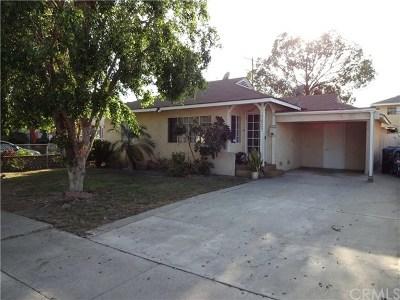 Norwalk Single Family Home For Sale: 13903 Lefloss Avenue